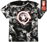 Captain America  - Captain Rogers AOP T-Shirt