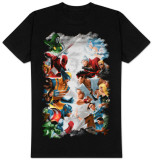 Marvel Vs. Capcom  - Capcom Gods T-shirts