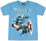 Youth: Captain America  - Courageous Captain T-shirts