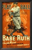 Play Ball With Babe Ruth Print