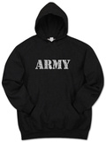 Hoodie: Lyrics To The Army Song Pullover Hoodie