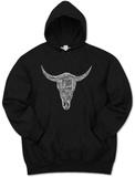 Hoodie:  Top Country Songs Cowskull Pullover Hoodie