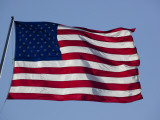 Amerikanische Flagge Fotografie-Druck