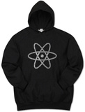 Hoodie: Atom out of the Periodic Table Mikina s kapucí
