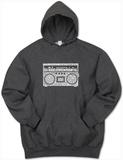 Hoodie: Greatest Rap Hits Boom Box Pullover Hoodie