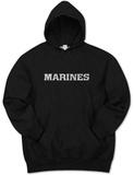 Hoodie: Lyrics To The Marines Hymn Pullover Hoodie