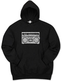 Hoodie: Greatest Rap Hits Boom Box T-Shirt