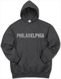 Hoodie: Philadelphia Neighborhoods Pullover Hoodie