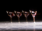 Sequence of Female Figure Skater in Action Photographic Print