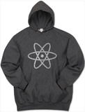 Hoodie: Atom out of the Periodic Table Shirts