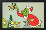 How the Grinch Stole Christmas Posters