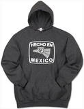 Hoodie: Hecho En Mexico Mikina s kapucí