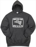 Hoodie: Hecho En Mexico Pullover Hoodie