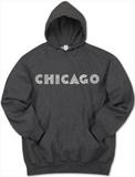 Hoodie: Chicago Neighborhoods Pullover Hoodie