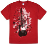 Red Guitar T-shirts