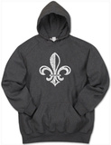 Hoodie: Saints Go Marching In Fleur De Lis T-Shirt