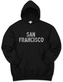 Hoodie: San Francisco Neighborhoods T-paita