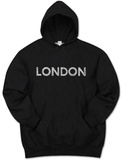 Hoodie: London Neighborhoods Pullover Hoodie