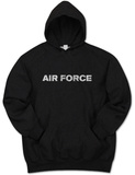 Hoodie: Lyrics To The Air Force Song Pullover Hoodie