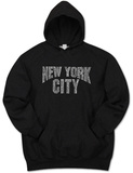 Hoodie: NYC Neighborhoods Pullover Hoodie