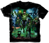 Green Lantern - Group T-shirts
