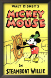 Steamboat Willie Poster