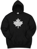 Hoodie: Canada National Anthem Bluza z kapturem