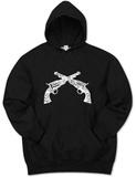 Hoodie: Pistols Pullover Hoodie
