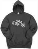 Hoodie: Motorcycle Pullover Hoodie