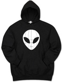 Hoodie: I Come in Peace Alien T-shirts