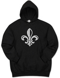 Hoodie: Saints Go Marching In Fleur De Lis Vêtement
