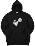 Hoodie: Dice out of Crap Terms Bluza z kapturem