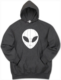 Hoodie: I Come in Peace Alien T-Shirt