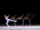 Sequence of Female Figure Skater in Action Photographie