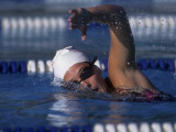 Female Swimmer in Action Photographic Print