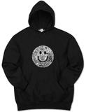 Hoodie: Smile Face Kapuzenpulli