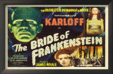 The Bride of Frankenstein Print