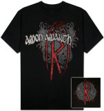 Amon Amarth  - Oversize Logo Rune T-shirts