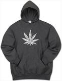 Hoodie: Marijuana Leaf T-Shirt