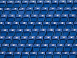 Empty Stadium Seating Photographic Print