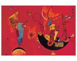 Mit und Gegen Premium Giclee Print by Wassily Kandinsky