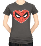 Juniors: Spiderman - Spidey Heart T-Shirt