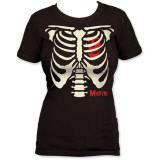 Women's: The Misfits - Ribcage Tシャツ