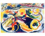 Sobre el tema del Juicio Final Lámina giclée de primera calidad por Wassily Kandinsky