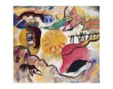 Improvisation No. 27 (The Garden of Love), c.1912 Premium Giclee Print by Wassily Kandinsky