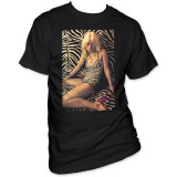 Debbie Harry - Zebra Print T-Shirt