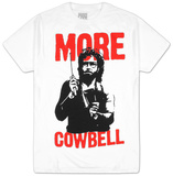 Saturday Night Live - Will Ferrell More Cowbell T-shirts