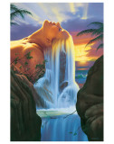 Island Dreams Premium Giclee Print by Jim Warren