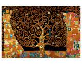 Gustav Klimt - The Tree of Life (Interpretation) Speciální digitálně vytištěná reprodukce