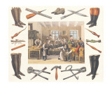 The Shoemaker, c.1830 Premium Giclee Print